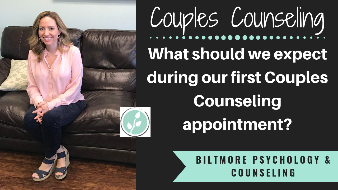 What to Expect at Your First Couples Counseling Appointment