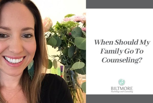 When To Seek Family Counseling